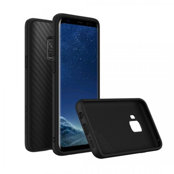 Чехол RhinoShield SolidSuit карбон для Samsung Galaxy S9