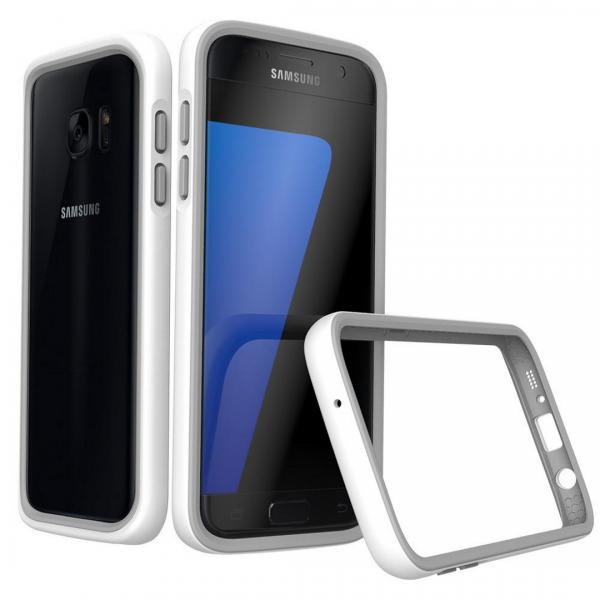 Бампер RhinoShield CrashGuard белый для Samsung Galaxy S7