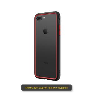 Чехол RhinoShield CrashGuard NX черный с красным для Apple iPhone 7 Plus/8 Plus