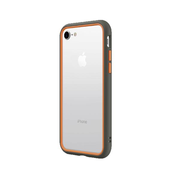 Бампер RhinoShield CrashGuard NX серый с оранжевым для Apple iPhone 7/8
