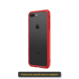 Бампер RhinoShield CrashGuard NX черный с красным для Apple iPhone 7 Plus/8 Plus