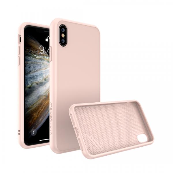 Чехол RhinoShield SolidSuit бледно-розовый для Apple iPhone Xs Max