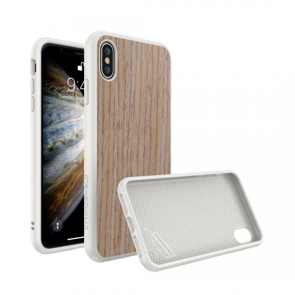 Чехол RhinoShield SolidSuit деревянный (светлый орех) для Apple iPhone Xs Max