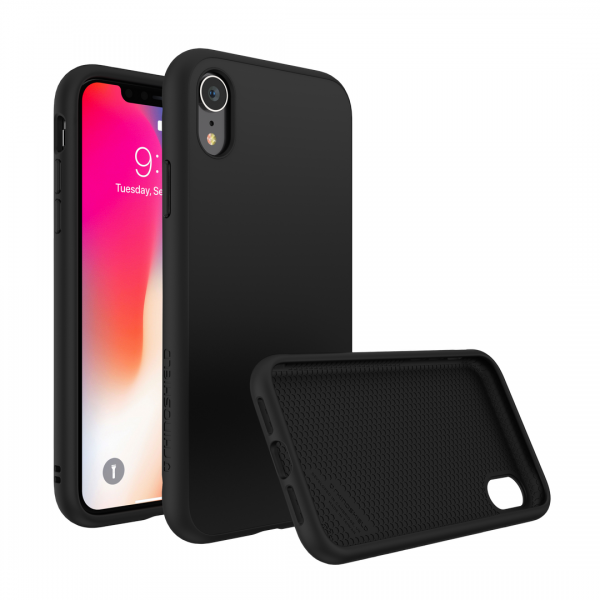 Чехол RhinoShield SolidSuit черный  для Apple iPhone Xr