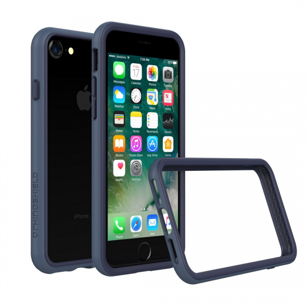 Чехол RhinoShield CrashGuard Dark Blue для Apple iPhone 7/8
