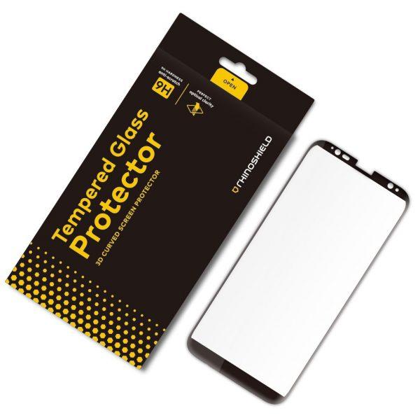 Защитное стекло RhinoShield Tempered Glass простое приклеивание для Galaxy S8+