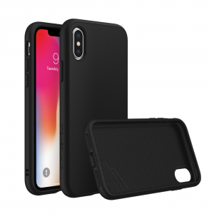 Чехол RhinoShield SolidSuit Classic Black для Apple iPhone X