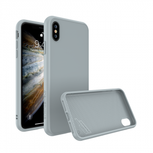 Чехол RhinoShield SolidSuit Cloud grey для Apple iPhone Xs