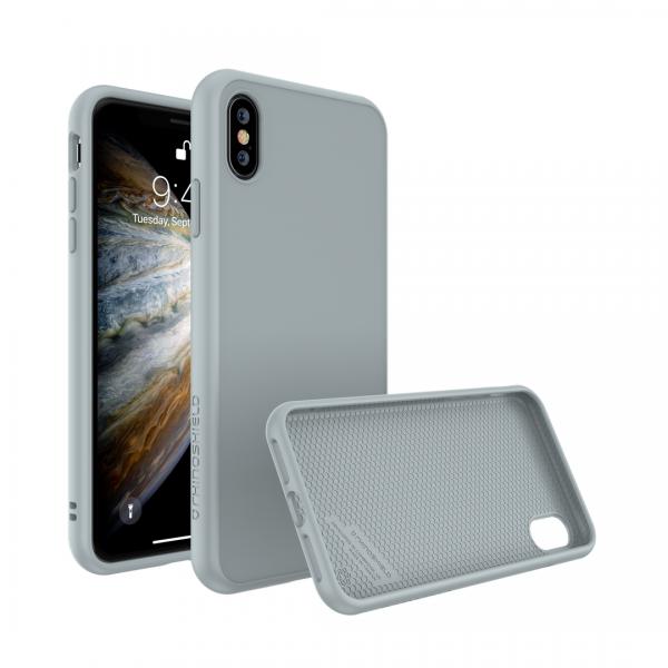 Чехол RhinoShield SolidSuit Cloud grey для Apple iPhone Xs