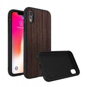 Чехол RhinoShield SolidSuit Wood Black Oak для Apple iPhone Xr