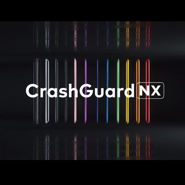 Чехол RhinoShield CrashGuard NX Grey Orange для Apple iPhone X