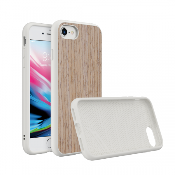 Чехол RhinoShield SolidSuit Wood Light Walnut для Apple iPhone 7/8