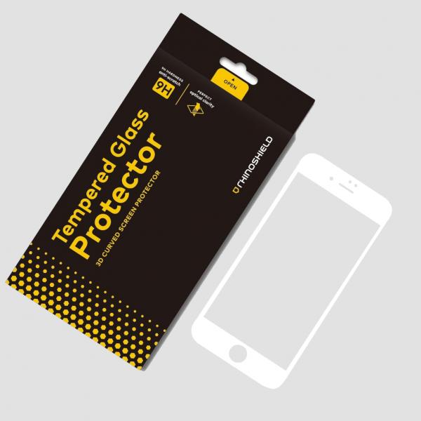 Защитное стекло RhinoShield Tempered Glass White для iPhone 8 Plus