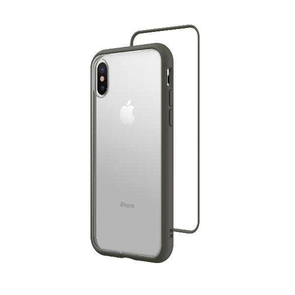 Чехол RhinoShield Mod NX серый для Apple iPhone Xs