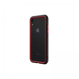 Бампер RhinoShield CrashGuard NX черный с красным для Apple iPhone Xr