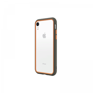 Бампер RhinoShield CrashGuard NX серый с оранжевым для Apple iPhone Xr