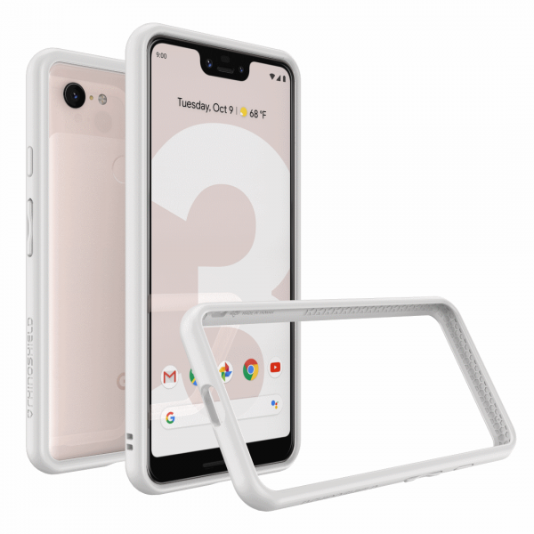 Бампер RhinoShield CrashGuard белый для Google Pixel 3 XL