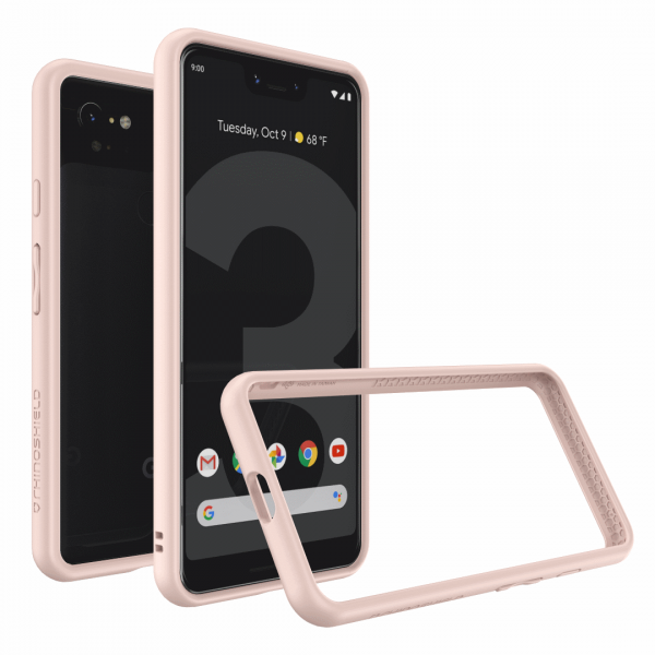 Бампер RhinoShield CrashGuard розовый для Google Pixel 3 XL