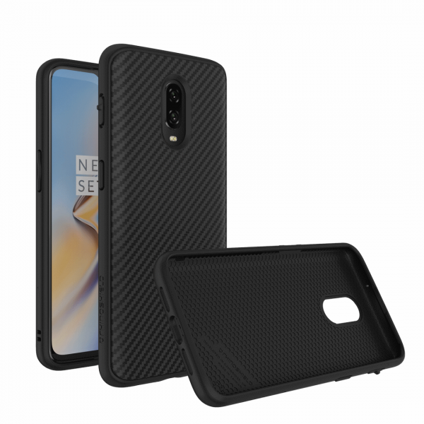 Чехол RhinoShield SolidSuit карбон для OnePlus 6T