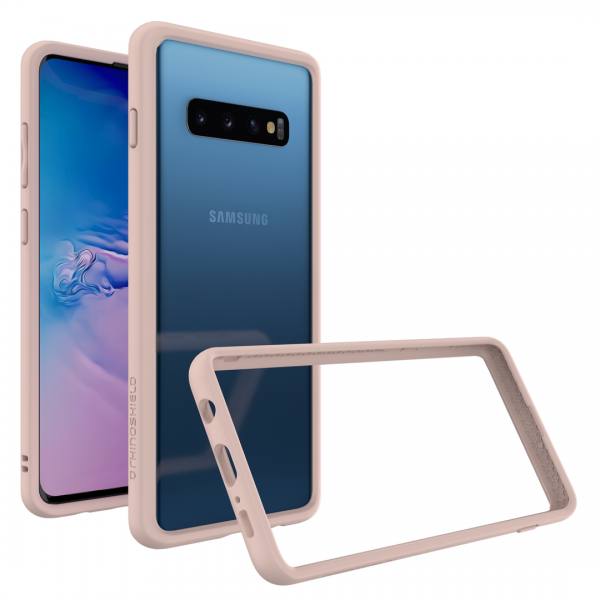 Бампер RhinoShield CrashGuard розовый для Samsung Galaxy S10+