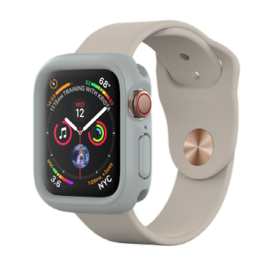 Защитный чехол RhinoShield черный для часов Apple Watch 40 мм 4 series