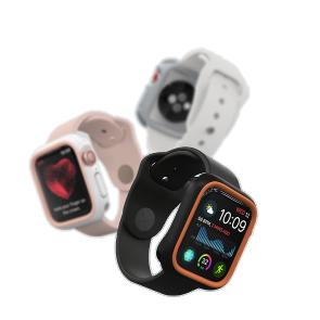 Защитный чехол RhinoShield серый для часов Apple Watch 44 мм 4 series
