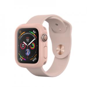 Защитный чехол RhinoShield розовый для часов Apple Watch 40 мм 4 series