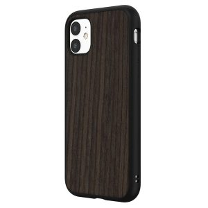 Чехол RhinoShield SolidSuit деревянный (черный дуб) для Apple iPhone 11