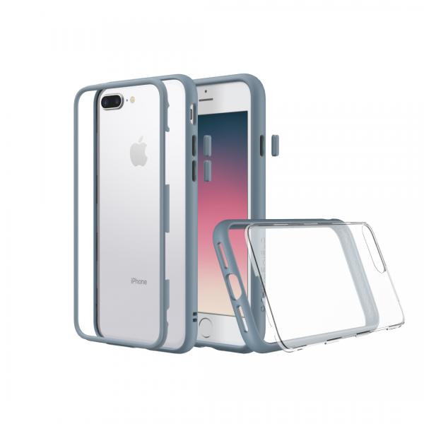 Модульный чехол RhinoShield Mod серо-голубой для Apple iPhone 7 Plus/8 Plus с защитой от падений с 3.5 м