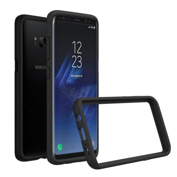 Чехол-бампер RhinoShield CrashGuard черный для Samsung Galaxy S8