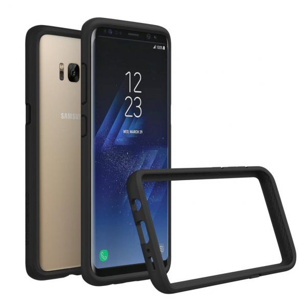 Чехол-бампер RhinoShield CrashGuard черный для Samsung Galaxy S8+