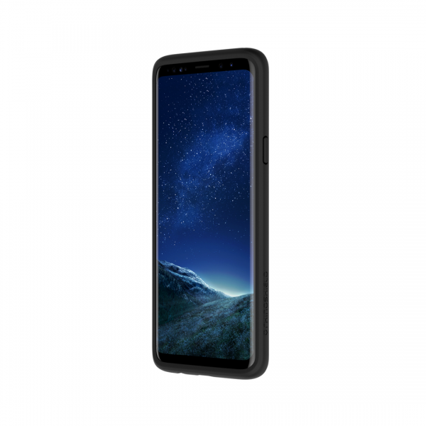 Чехол-бампер RhinoShield CrashGuard черный для Samsung Galaxy S9+