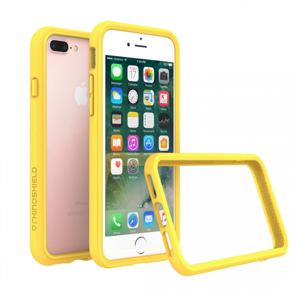 Бампер RhinoShield CrashGuard желтый для Apple iPhone 7 Plus/8 Plus