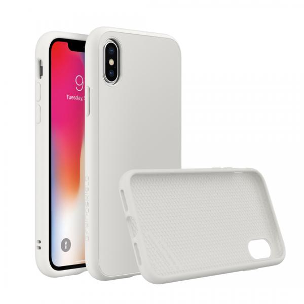 Чехол-накладка RhinoShield  белый для Apple iPhone X с защитой от падений с 3.5 м
