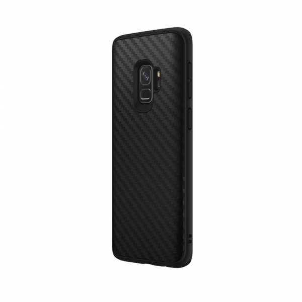 Чехол-накладка RhinoShield SolidSuit карбон для Samsung Galaxy S9
