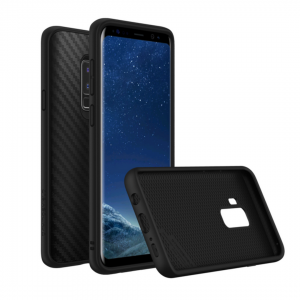 Чехол-накладка RhinoShield SolidSuit карбон для Samsung Galaxy S9+