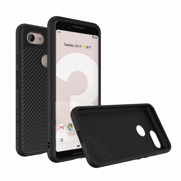 Чехол-накладка RhinoShield SolidSuit карбон для Google Pixel 2