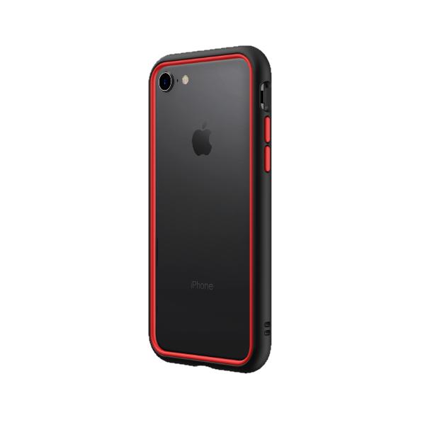 Чехол-бампер RhinoShield CrashGuard NX черный с красным для Apple iPhone 7/8/SE (2020)