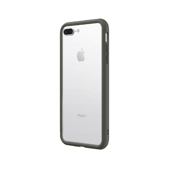 Чехол-бампер RhinoShield   серый для Apple iPhone 7 Plus/8 Plus с защитой от падений с 3.5 м