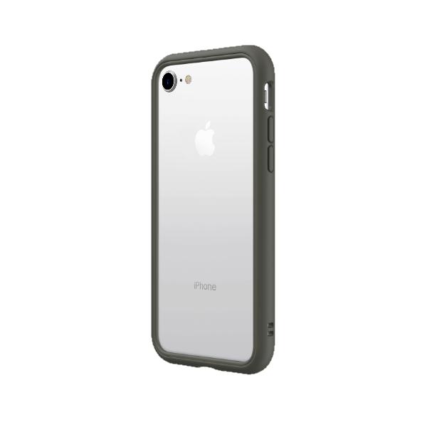 Чехол-бампер RhinoShield   серый для Apple iPhone 7/8/SE (2020) с защитой от падений с 3.5 м