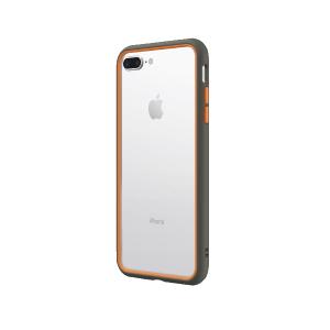 Чехол-бампер RhinoShield CrashGuard NX серый с оранжевым для Apple iPhone 7 Plus/8 Plus