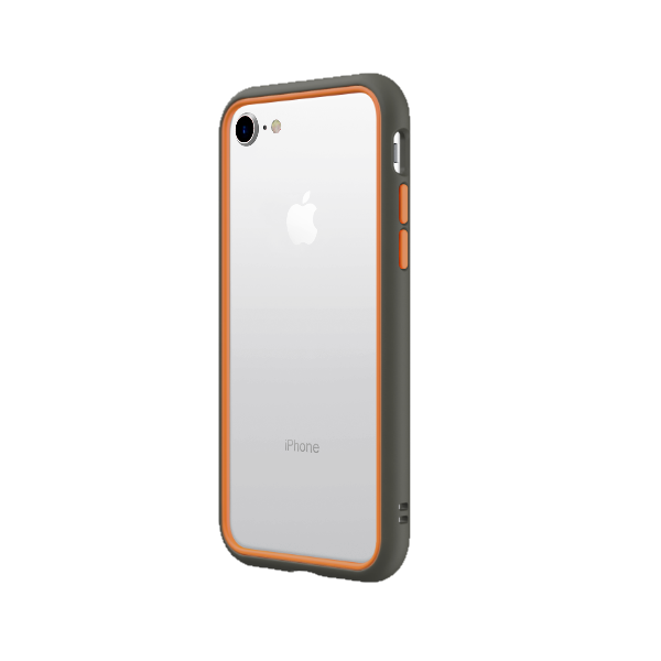 Чехол-бампер RhinoShield CrashGuard NX серый с оранжевым для Apple iPhone 7/8/SE (2020)