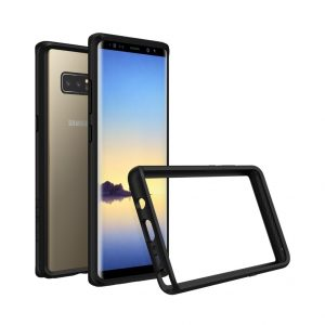 Бампер RhinoShield CrashGuard черный для Samsung Galaxy Note 8