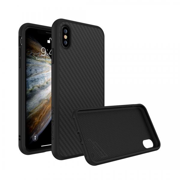 Чехол-накладка RhinoShield SolidSuit черный карбон для Apple iPhone Xs