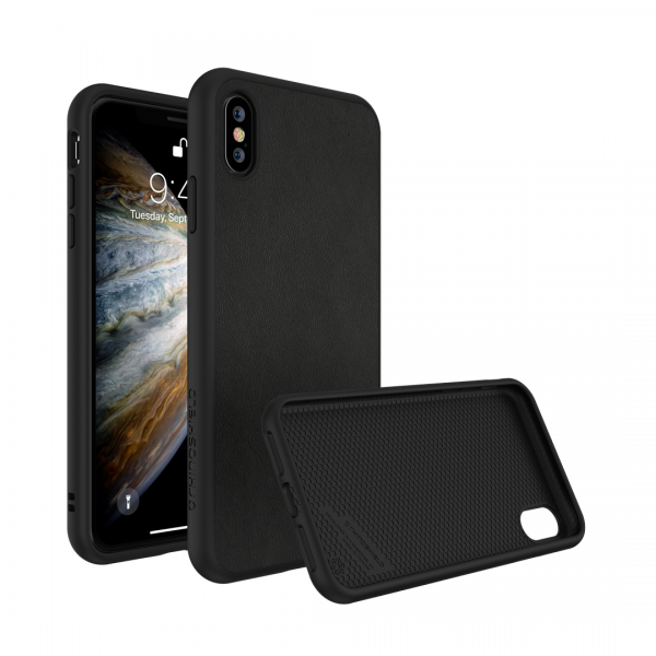 Чехол RhinoShield SolidSuit кожаный для Apple iPhone Xs