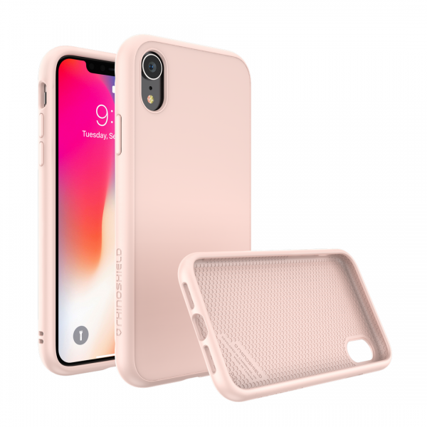 Чехол-накладка RhinoShield SolidSuit бледно-розовый для Apple iPhone Xr