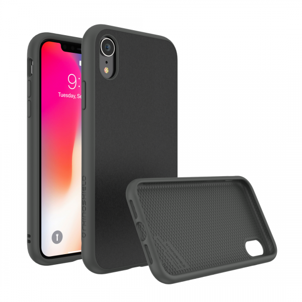 Чехол-накладка RhinoShield SolidSuit микрофибра для Apple iPhone Xr