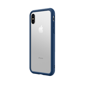 Чехол-бампер RhinoShield CrashGuard NX синий для Apple iPhone X/Xs