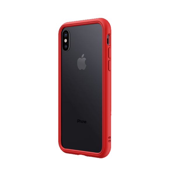 Бампер RhinoShield CrashGuard NX красный для Apple iPhone X/Xs