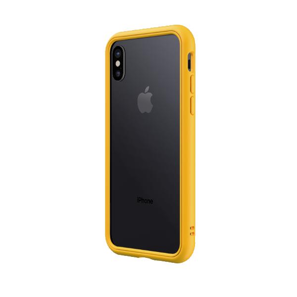 Чехол-бампер RhinoShield   желтый для Apple iPhone X/Xs с защитой от падений с 3.5 м